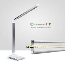 Dimmbar 10W LED Schreibtischlampe Büroleuchte Tischleuchte Leselicht Buchlampe