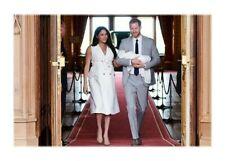 Herzog und Herzogin von Sussex mit Baby Archie Postkarte