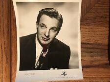 Bob Crosby Jazz Singer Bandleader Original MCA Artist Advertising Photograph