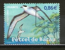 TIMBRE 4036 OBLITERE - PETREL DE BARAU - OISEAU DE LA REUNION