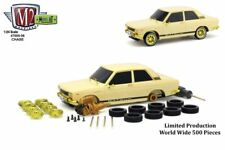 M2 Machines 1:24 Model-Kit Auto-Japan 1970 Datsun 510 Cream 47000-06 Chase Car
