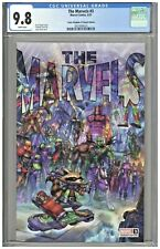 The Marvels #3 CGC 9.8 Comic Kingdom of Canada Edition Alan Quah Variant Cover