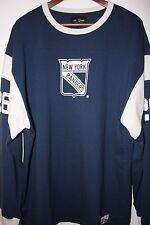 New New York Rangers Hockey Football Jersey made in Canada