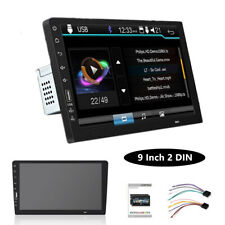 """Double Din 9""""Touch Screen Car Stereo Upgrade Version Genuine MP5 Player FM Radio"""