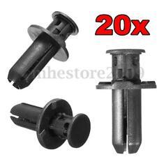 20pcs 10mm Plastic Bumper Grille Cover Rivet Fastener Clips For Subaru 909140007