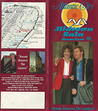 Midtown Bala Motor Inn Atlantic City NJ  Brochure Color Photos Street Map
