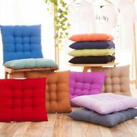 Home Decor Chair Seat Pad Garden Dining Cushion Kitchen Office Patio Pillow