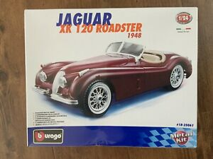 Burago Jaguar Xk120 Roadster Kit 1948