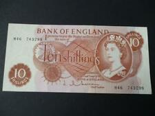 More details for 1963 replacement ten shilling note j.q.hollom about uncirculated duggleby  b296