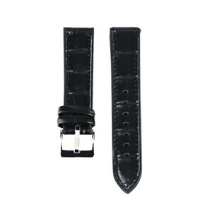 20/22mm Leather+Silicone Band Watch Strap Rubber Watchband Replacement Bangle