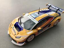 """Carrera Digital 132 30766 Lamborghini Huracan GT3 """"No. 19"""" Karosse+Chassis NEU"""