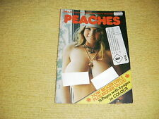 rare oop PEACHES No 45 Mens Monthly adult material vintage UK Copyright 1977 18+