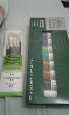 Winsor& Newton winton oil colour 10x37 ml & 6x oil brush set