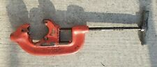 "RIGID (NO. 4-S) HEAVY DUTY 2"" TO 4"" (B-183-1) PIPE CUTTER conduit RIDGE TOOL CO"