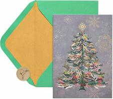 Papyrus Festive Tree Boxed Holiday Card, 14-Count