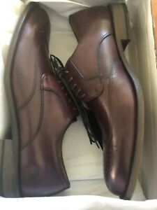 Banana Republic Shoes Liam Wingtip Oxfords Burgundy SIZE 7.5M