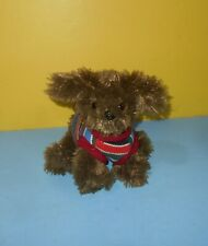 The Children's Place Plush Chocolate Brown MAX Lap Dog Puppy w/ Collar Sweater