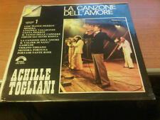 LP ACHILLE TOGLIANI LA CANZONE DELL'AMORE VOL.1 ORL 8284 SIGILLATO ITALY PS  LSG