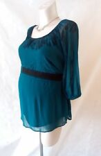 Polyester 3/4 Sleeve Plus Size Maternity Tops and Shirts