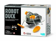ROBOT DUCK - MAKE YOUR OWN EDUCATIONAL FUN MECHANICS 4M SCIENCE & ACTIVITY KIT