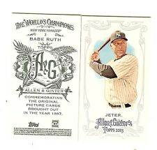 2013 Topps Allen & Ginter Mini SP A&G Back You Pick 5