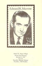 #2812 2nd Day Program 29c Edward R. Murrow