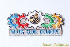 """Toppa """"Vespa Club d'Europa"""" - Club Europa V50 PK PX GS GL TS GT Piaggio Toppa"""