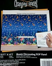 OCEAN FRIENDS TOP PANEL ROOM DECORATING POSTER ~ Party Supplies Deep Sea Plastic