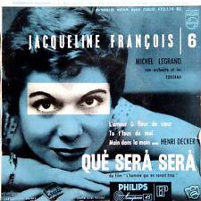JACQUELINE FRANÇOIS Que Sera Sera FR Press EP
