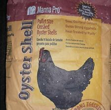 CRUSHED OYSTER SHELL  CHICKEN/POULTRY FEED ~ SUPPLEMENT  15 lbs