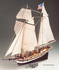 "New, gorgeously detailed Corel wooden model ship kit: the ""Ranger"""