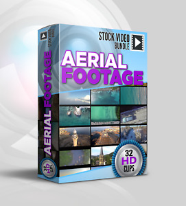 Stock Video Aerial Footage 32 HD Royalty Free 1080p Video Clips