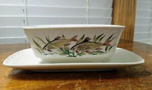 Ceramic Gravy Boat Vegetable Pattern Primabella by Villeroy /& Boch 1960/'s. Sauce Boat