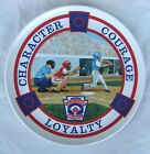 Melamine Lexington Little League Baseball Collectible Plate Vintage 70's