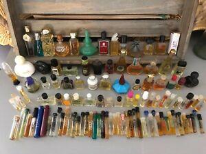109 Stück Parfum Miniaturen Konvolut Sammlung Flakons aus den 90er Jahren