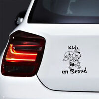 Decor Graphics Decal Cartoon Car Window Decoration Kids On Board Sticker BRFBDC