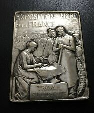 1904 French Medal Issued to Commemorate the Exposition at Nord by Lefebure / M73