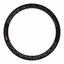 CAMPAGNOLO BORA ULTRA TWO DARK 3D DESIGN REPLACEMENT RIM DECAL SET FOR 2 RIMS