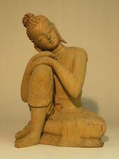 Statue, sculpture en bois pour la décoration intérieure de la maison