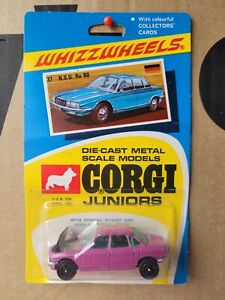 CORGI WHIZZWHEELS - NS RO 80 [PURPLE] CAR MINT VHTF BLISTER CARD GOOD