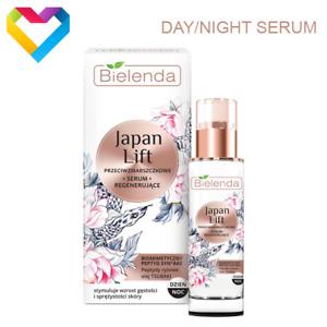 Bielenda JAPAN LIFT Regenerating Antiwrinkle Day/Night Face SERUM 30ml