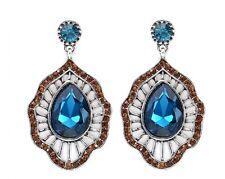 Small Medium Turquoise Blue Dangle drop Earrings