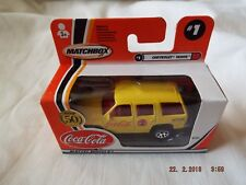 MATCHBOX  MADE IN CHINA  COCA COLA CHEVROLAT TAHOE #1