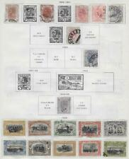 18 Romania Stamps from Quality Old Album 1894-1906