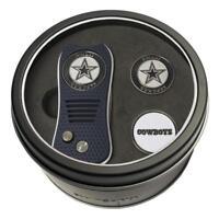 Dallas Cowboys NFL Switchfix Switchblade Golf Divot Tool and Tin