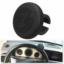 Zone Tech Steering Wheel Spinner Black Silicone Power Handle Silicone Brodi Knob