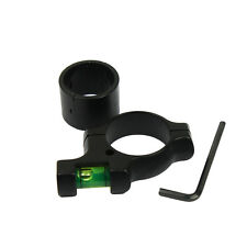 "Hunting Alloy Bubble Spirit Level for Rifle Scope Laser with 30mm to 1"" Reducer"