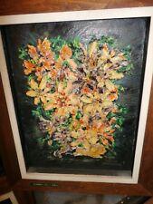 "1950 Era Oil Painting by Marilyn Sienkiewicz  (1922-2017) Titled  ""Shells"""