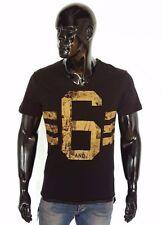 Herren-T-Shirts aus Baumwollmischung mit V-Ausschnitt für Party-Anlässe