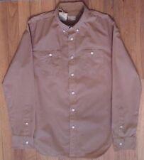 NWT CLUB MONACO Light Brown, 2 pocket, Cotton  Sz Small, Slim Fit (LS-832)